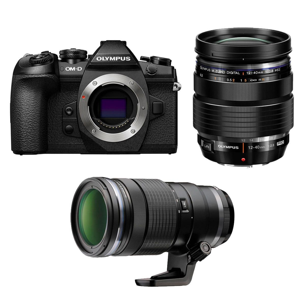 Olympus E-M1 Mark II PRO Double Zoom Kit