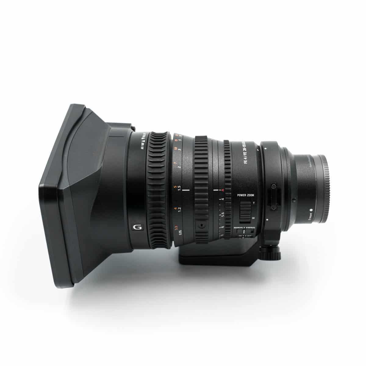 Sony FE 28-135mm F4 G PZ OSS (K5, sis. ALV24%, takuu 12kk) – Käytetty
