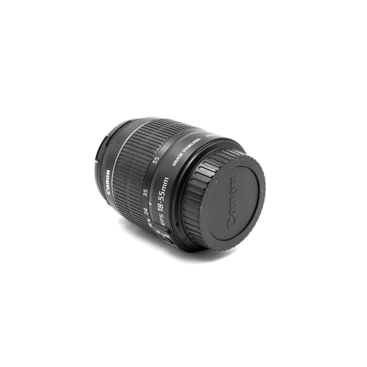 Canon EF-S 18-55mm f/3.5-5.6 IS – Käytetty