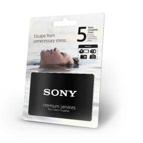 Sony 5 vuoden täysturva