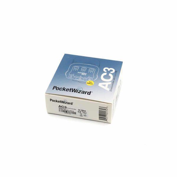 Pocket Wizard AC3 Zonecontroller Nikon - Käytetty