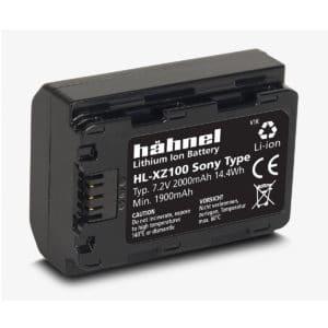 Hähnel Sony HL-XZ100 akku (NP-FZ100)