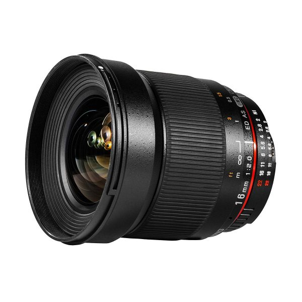 Samyang 16mm f/2 ED AS UMC CS APS-C - Canon EF