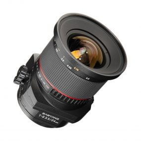 Samyang T-S 24mm f/3.5 ED AS UMC – Canon EF