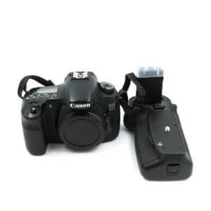 Canon 60D + akkukahva (Shuttercount 67000) – Käytetty