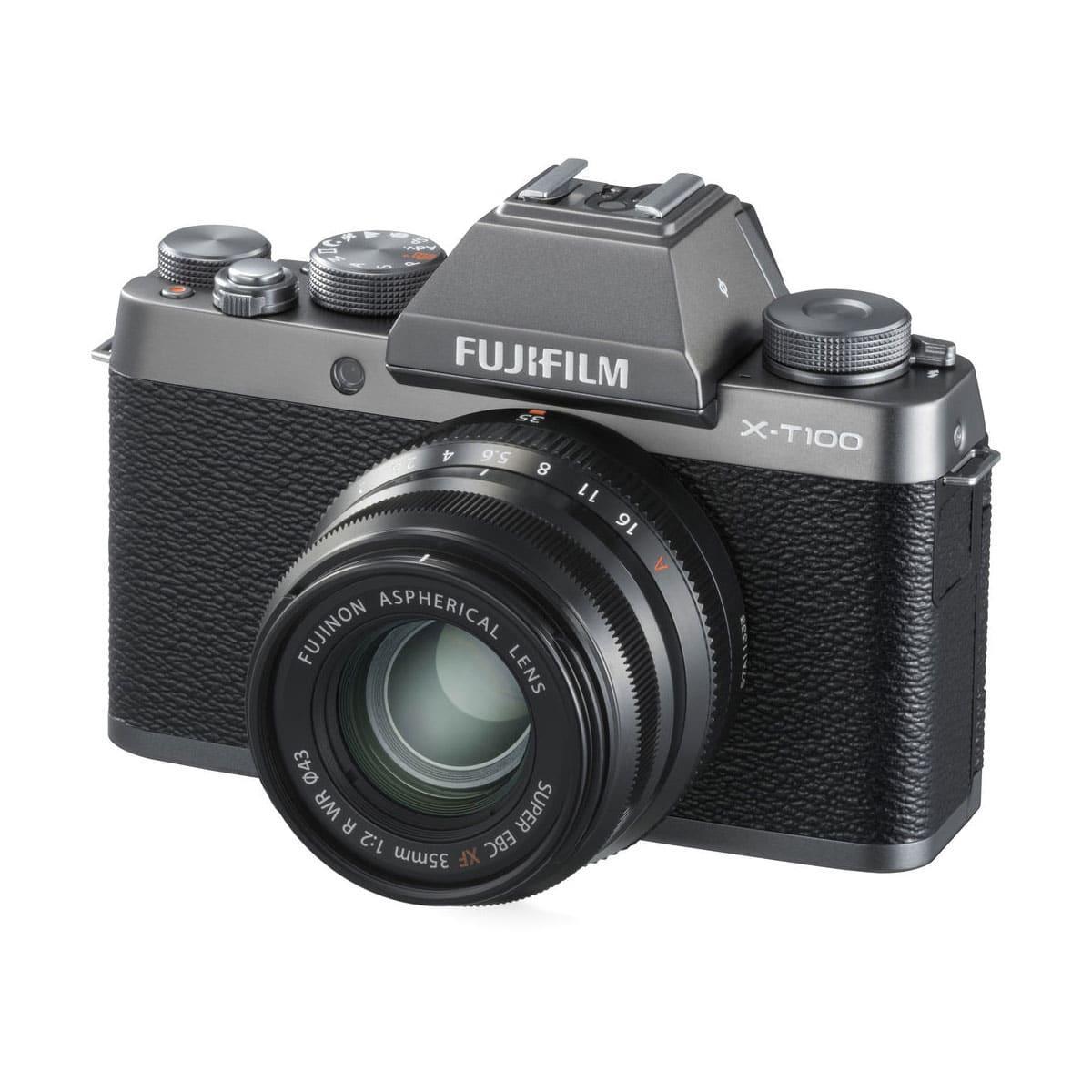 Fujifilm X-T100 Musta