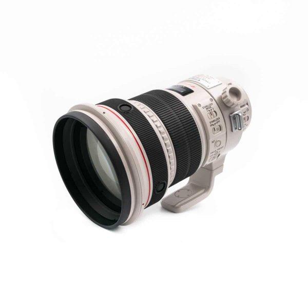 Canon 200mm f/2 L IS USM (Kunto K5, Takuuta 6kk) - Käytetty