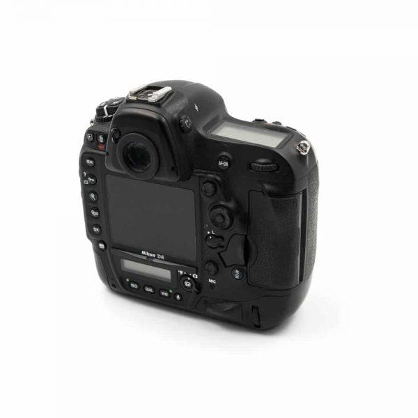 Nikon D4 (Shuttercount 101700) - Käytetty