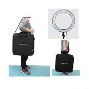 Hakutatz 19″ LED Ring Light + Jalkastandi