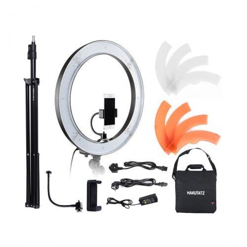Hakutatz 19″ LED Ring Light + Jalkastandi