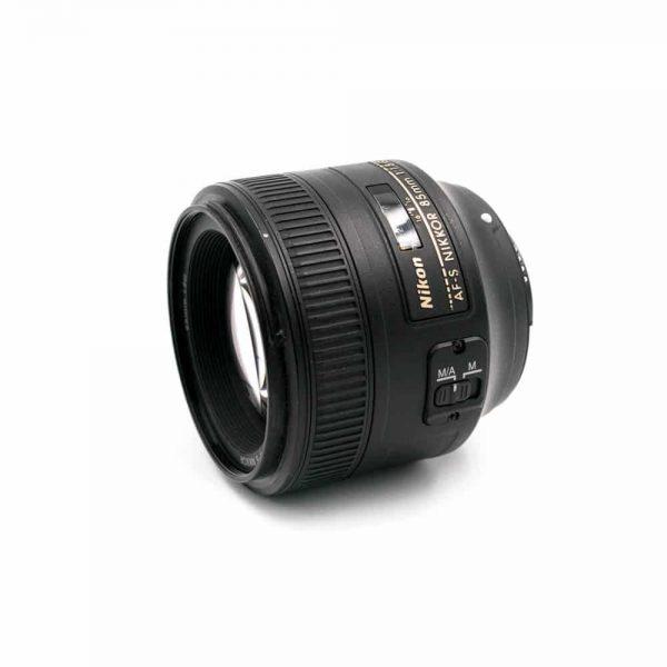 Nikon AF-S Nikkor 85mm f/1.8 G - Käytetty