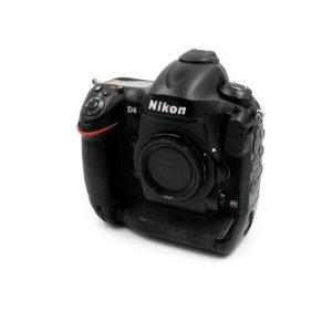 Nikon D4 (Shuttercount 184700) - Käytetty