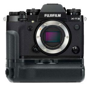 Fujifilm X-T3 Peilitön Järjestelmäkamerarunko + VG-XT3 akkukahva - Musta