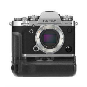 Fujifilm X-T3 Peilitön Järjestelmäkamerarunko + VG-XT3 akkukahva - Hopea
