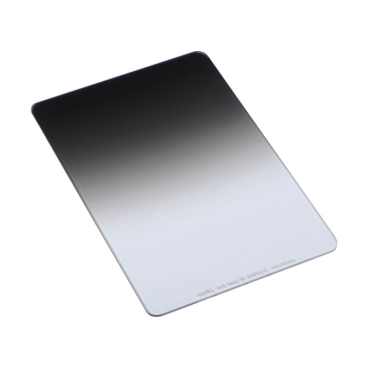 NiSi Square Nano IR GND Soft 75X100mm GND4 0.6 – pehmeä puoliharmaasuodin
