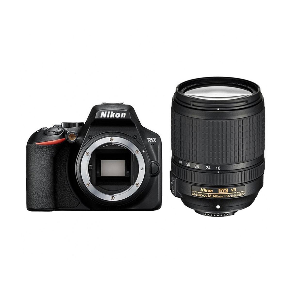 Nikon D3500 + Nikkor AF-S DX 18-140mm f/3.5-5.6 VR ED