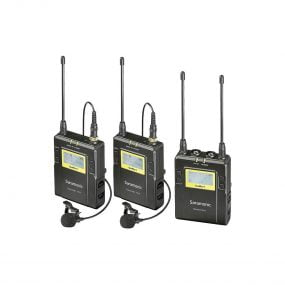 Saramonic UwMic9 RX9+TX9+TX9 UHF Wireless Lavalier