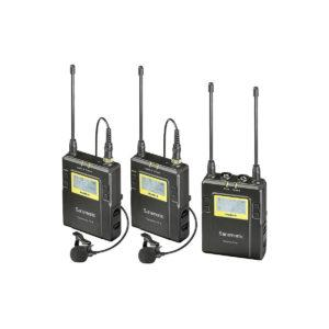 Saramonic UwMic9 RX9+TX9+TX9 UHF Wireless Lavalier