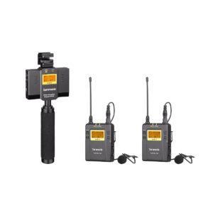 Saramonic UwMic9 SP-RX9+TX9+TX9 UHF Wireless Lavalier
