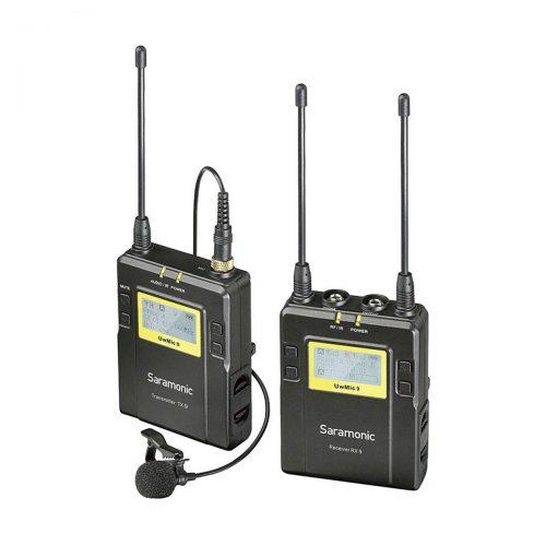 Saramonic UwMic9 RX9+TX9 UHF Wireless Lavalier Microphone System