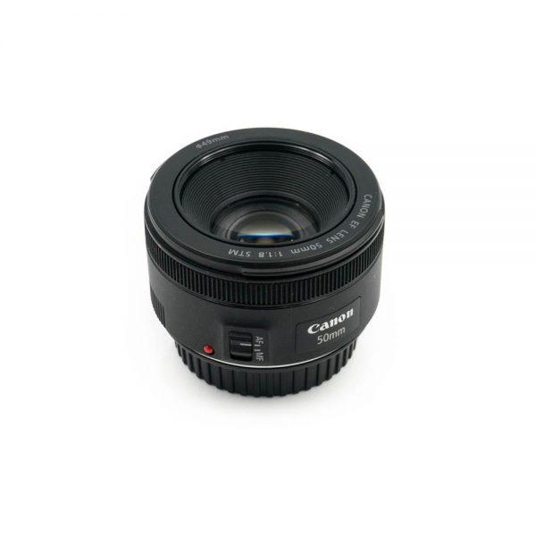 Canon 50mm f/1.8 STM (Kunto K4.5) - Käytetty