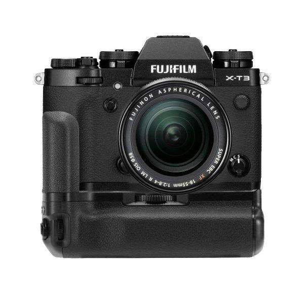 Fujifilm X-T3 + Fujinon 18-55mm f/2.8-4 OIS + VG-XT3 – Musta