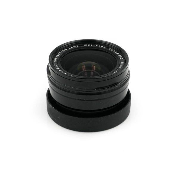 Fujinon WCL-X100 telelisäke Fujifilm X100 / X100S / X100T (K5 kunto) - Käytetty