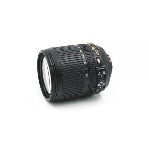 Niikon AF-S Nikkor 18-105mm f/3.5-5.6 G DX VR - Käytetty