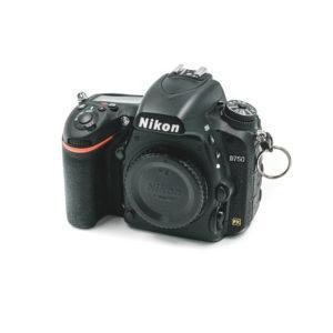 Nikon D750 (Shuttercount 39000, Kunto K4.5, sis. ALV 24%) - Käytetty