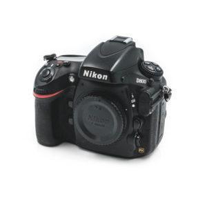 Nikon D800 (Shuttercount 68000, K4.5) - Käytetty