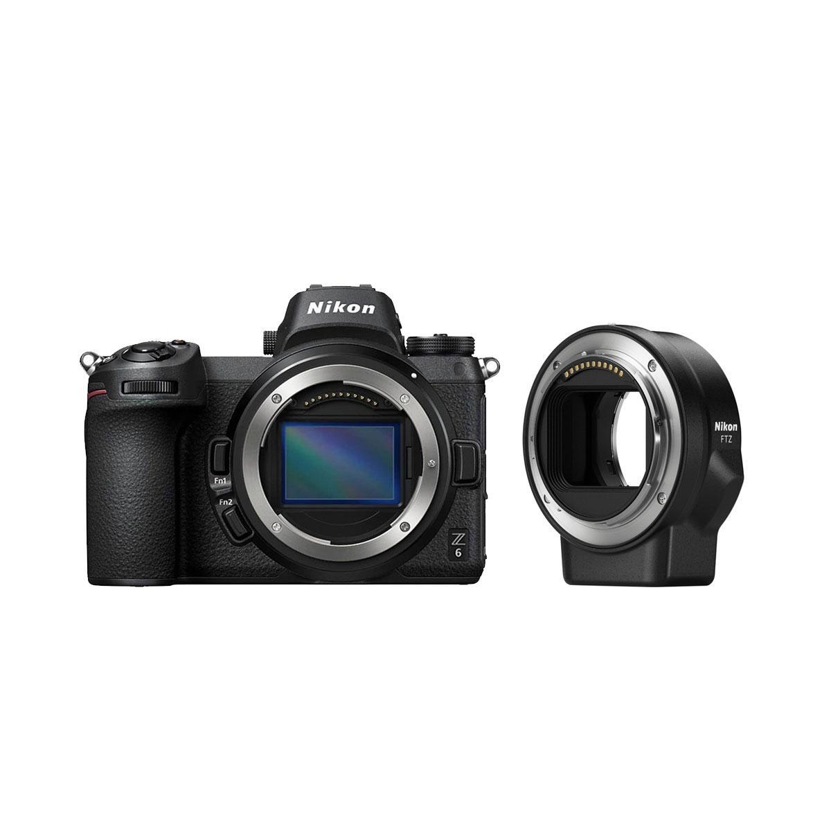 Nikon Z6 + FTZ Adapteri
