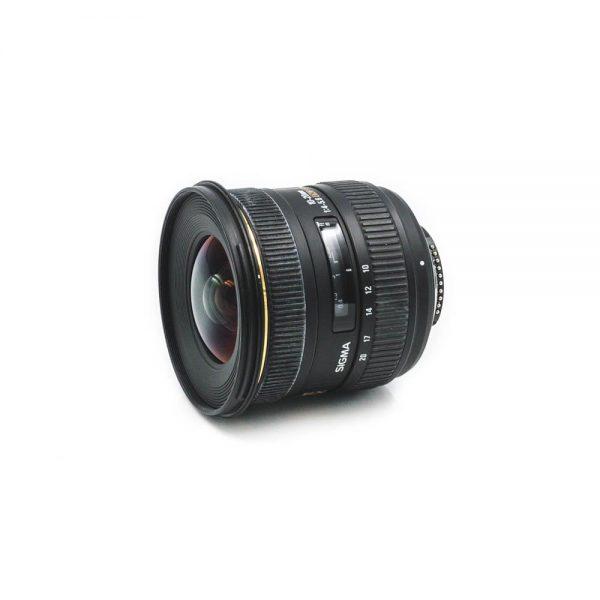 Sigma 10-20mm f/4-5.6 DC HSM Nikon - Käytetty