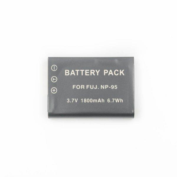Fujifilm NP-95 tarvikeakku - Käytetty