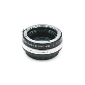 Zhongyi Lens Turbo II Nikon -> M43 (sis. ALV 24%) - Käytetty
