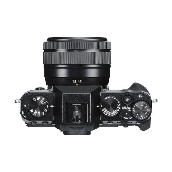 Fujifilm X-T30 Musta Fujinon XC 15-45mm f/3.5-5.6 OIS PZ