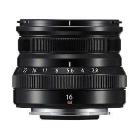 Fujinon XF 16mm F2.8 R WR Musta