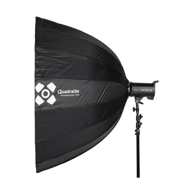 Quadralite Deep Hexadecagon 150cm Softbox – Bowens