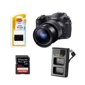 Sony RX10 IV Tuotepaketti