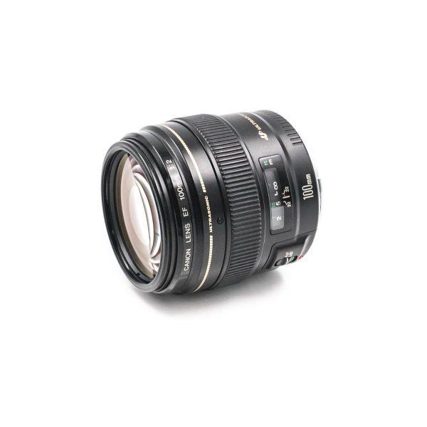 Canon EF 100mm f/2 USM - Käytetty