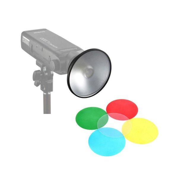 Godox AD-M Reflectori ja värikalvot AD200 salamalle
