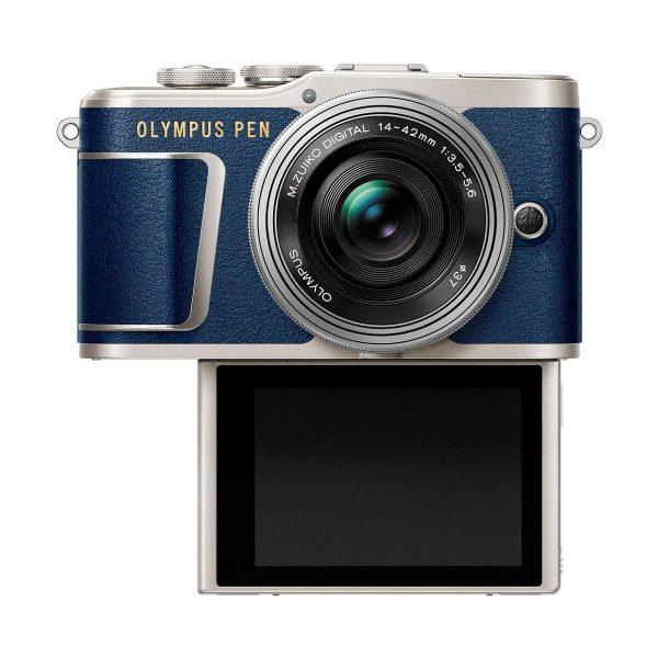 Olympus PEN E-PL9 Limited Blue + m.Zuiko 14-42mm f/3.5-5.6 EZ ED
