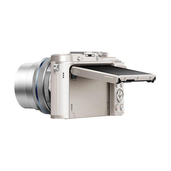 Olympus PEN E-PL9 Valko-Hopea + m.Zuiko 14-42mm f/3.5-5.6 EZ ED