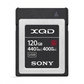 Sony 120GB XQD QDG120F XQD High Speed Tough series