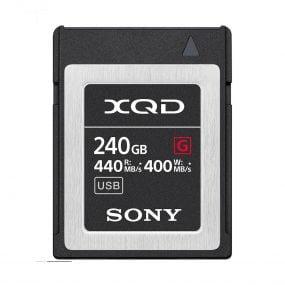Sony 240GB XQD QDG120F XQD High Speed Tough series