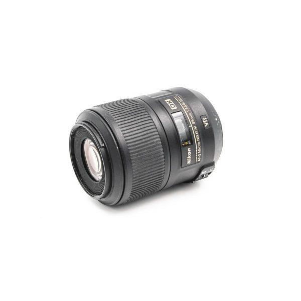 Nikon AF-S DX Micro-Nikkor 85mm f/3.5G DX VR - Käytetty