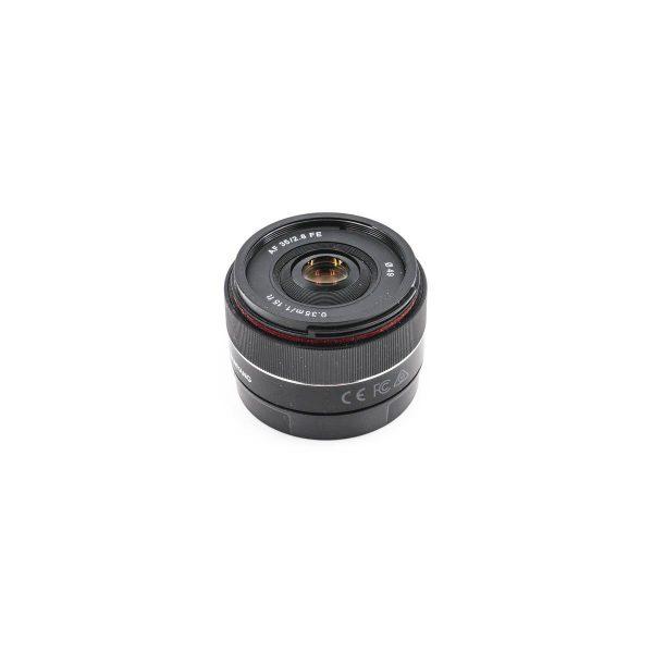Samyang AF 35mm f/2.8 Sony E - Käytetty