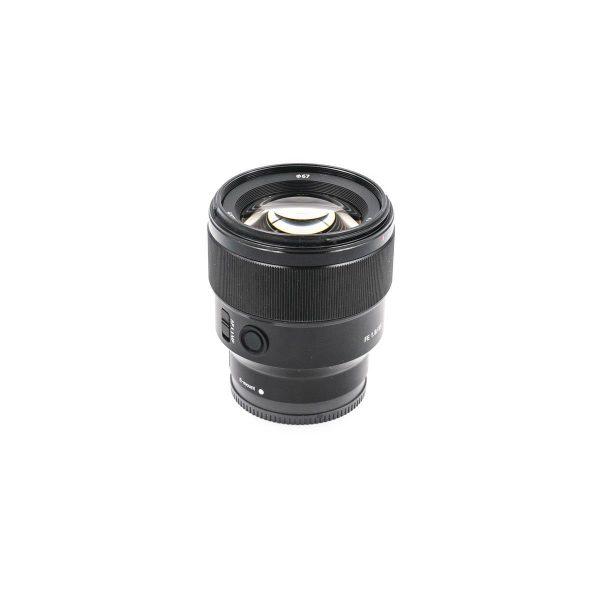 Sony FE 85mm f/1.8 (takuu 12kk) - Käytetty