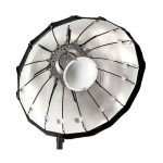 Lencarta Folding Beauty Dish 60cm Hopeinen – Elinchrom