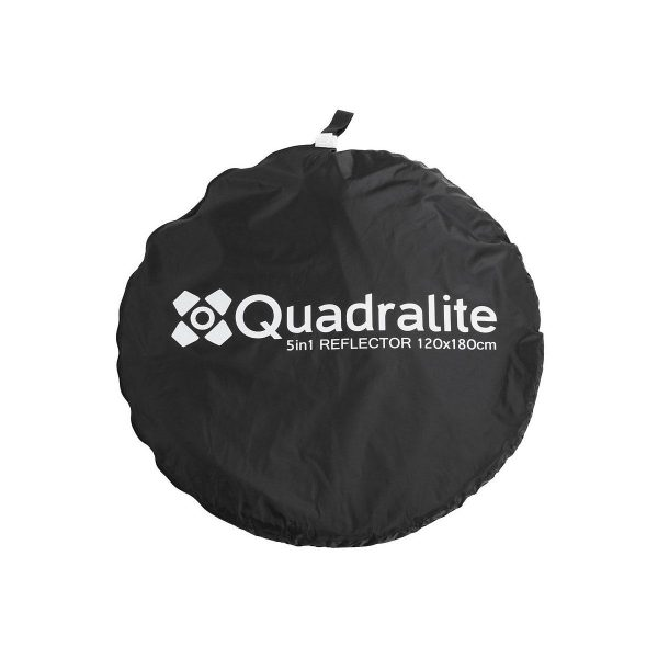 Quadralite Collapsible Reflector 5 in 1 - 120 x 180cm - Erä