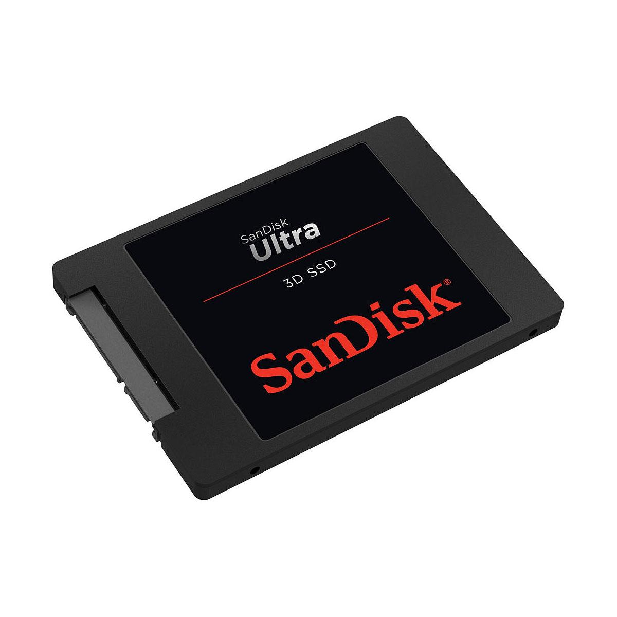 SanDisk SSD Ultra 3D 2TB 560MB/s Read 530MB/s Write